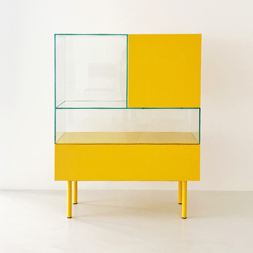 S4-2 DISPLAY CABINET - SPECIAL COLOR (YELLOW)