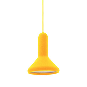 S1 CONE TORCH LIGHT - YELLOW