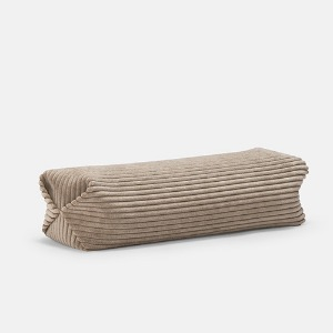 WALE NECK PILLOW - BEIGE