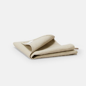 LIGHT LINEN KITCHEN CLOTH - SAND BEIGE
