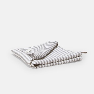 LIGHT LINEN KITCHEN CLOTH - 6MM STRIPE
