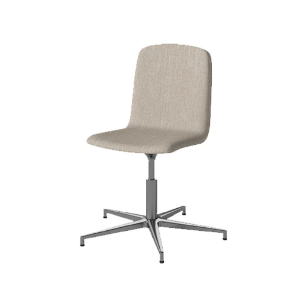 PALM CHAIR WITH UPHOLSTERED SEAT - BAIZE SAND