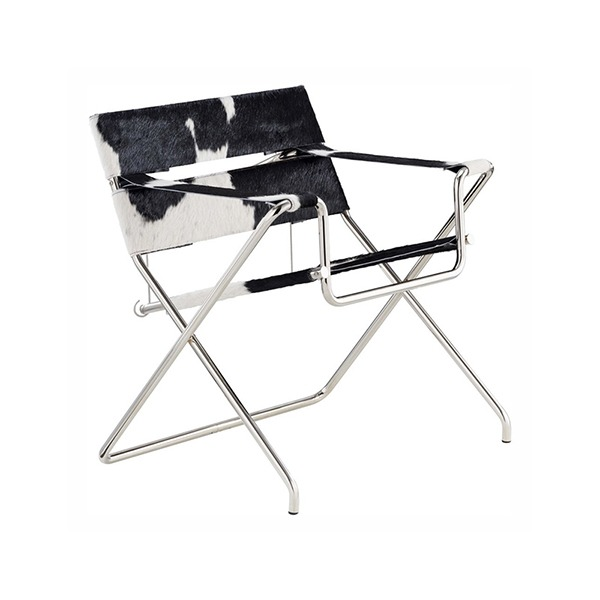 D4 BAUHAUS CHAIR - COWHIDE LEATHER