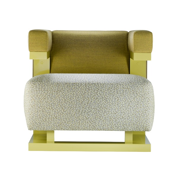 F51N ARMCHAIR - KVADRAT YELLOW