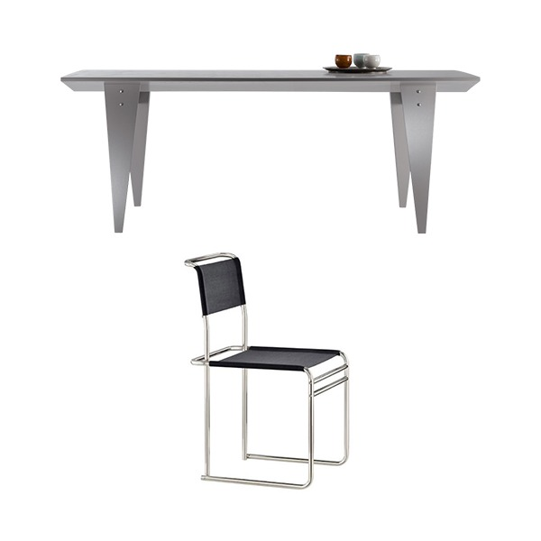 [PROMOTION] M36 TABLE + B40 CHAIR (4EA)