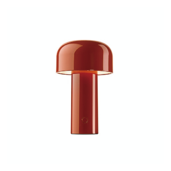 BELLHOP TABLE LAMP - BRICK RED