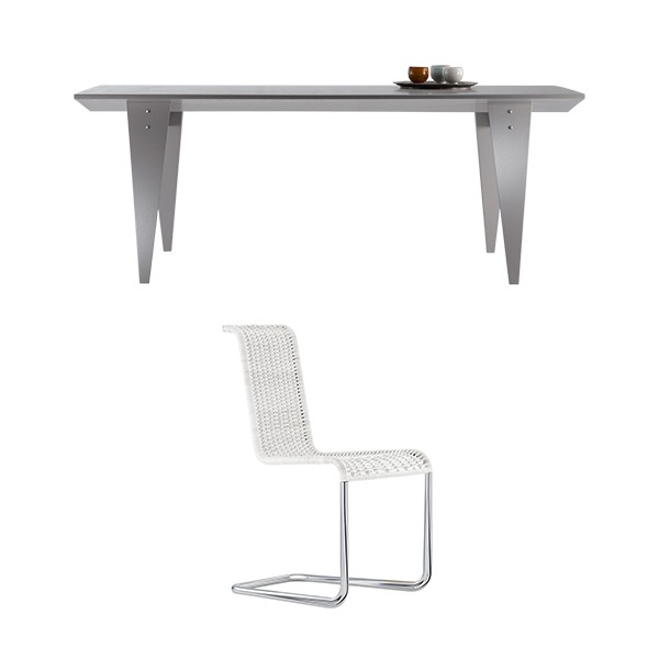 [PROMOTION] M36 TABLE + B20 CHAIR (4EA)