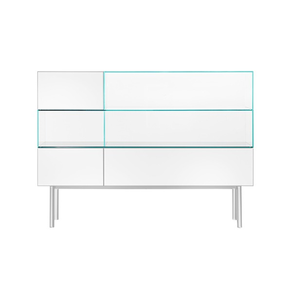 S4 DISPLAY CABINET - SPECIAL COLOR (WHITE)